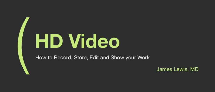 HD Video ACOS 2012