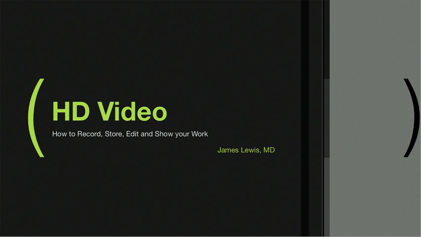 ACOS HD Video Course by James S. Lewis, MD