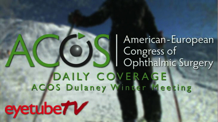 ACOS interview by James S. Lewis, MD